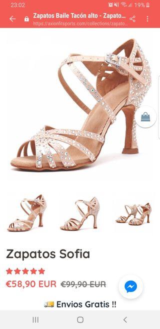 Zapatos bachata/salsa