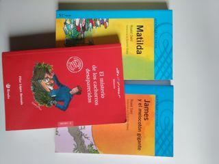 Pack de tres libros juveniles