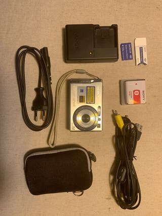 Camara Sony cybershot dsc-w80
