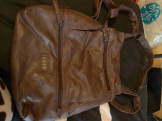 Bolso mochila marrón misako