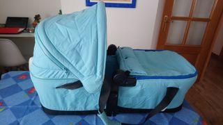 Capazo Concord Scout Xenon, con sábanas de regalo