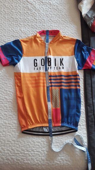 conjunto maillot y culote gobik replica