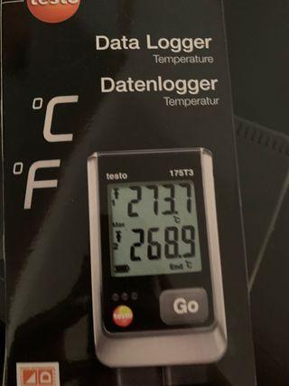 Data logger testo 175 T3