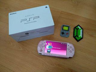 PSP SLIM 3004 Consola Rosa