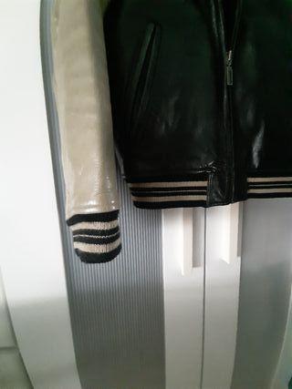 chaqueta de cuero chevignon
