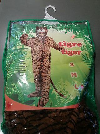 Disfraz tigre adulto talla L