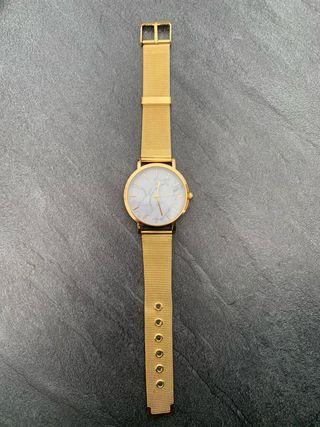 montre plaqué or