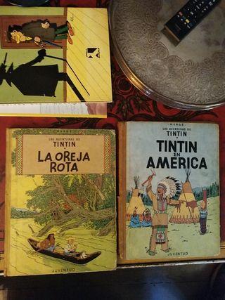 comics tintin 1965