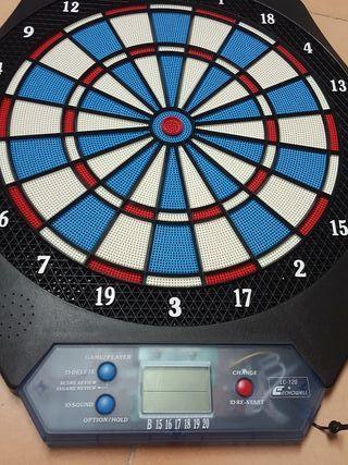 Ruleta electrónica con 6 dardos