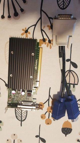 PNY nVIDIA NVS 300 - Tarjeta gráfica