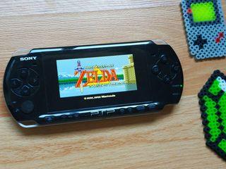 PSP SLIM 3004 Consola Piano Black
