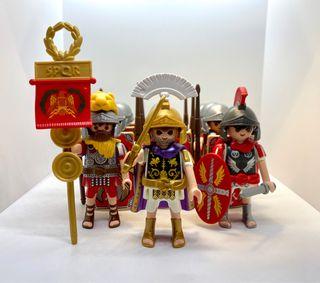 Lote 12x Romanos Playmobil