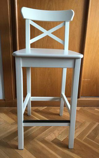 Taburete Ingolf Ikea (63 cm)