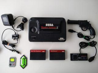 SEGA Master System - Consola + Extras