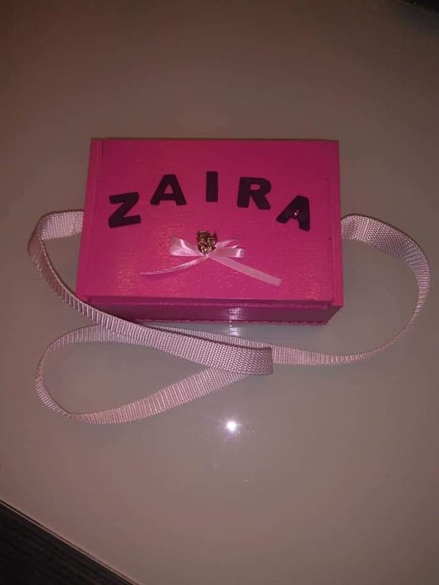 Caja para petardos personalizados