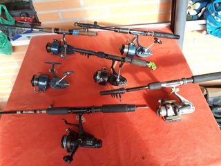 Material vario de pesca