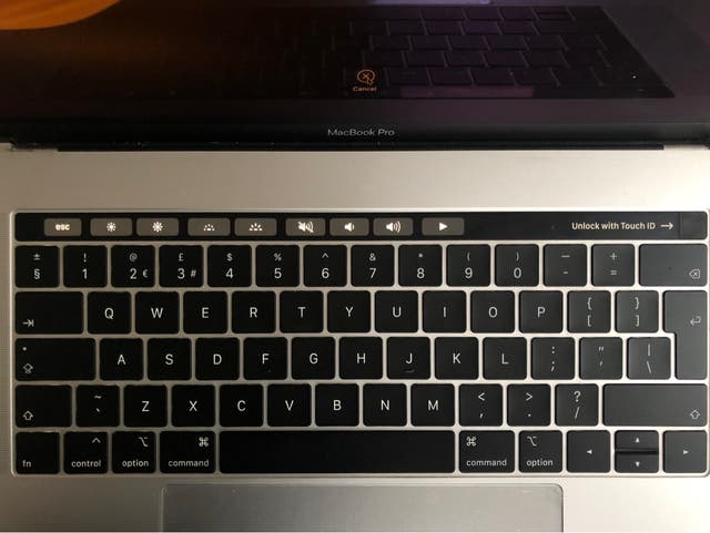 MacBook Pro 15inch Touch Bar & Touch ID
