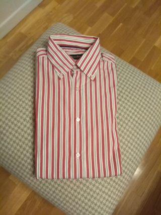 Camisa rayas Mássimo Dutti.