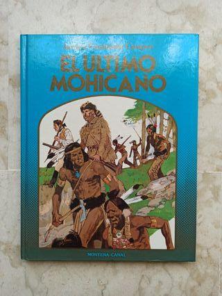"""Libro juvenil """"El último mohicano"""""""