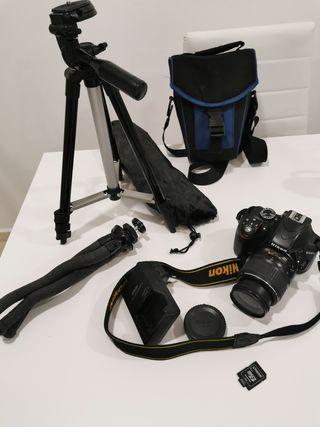 Cámara de fotos profesional Nikon D3300