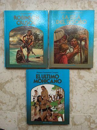 Lote 3 libros juveniles