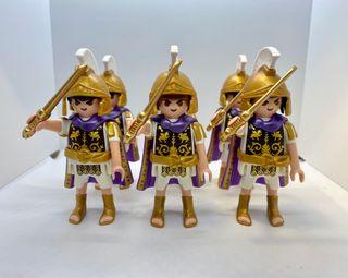 Lote 6x centuriones Romanos de Playmobil