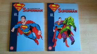 Superman 1 y 2 comics Planeta