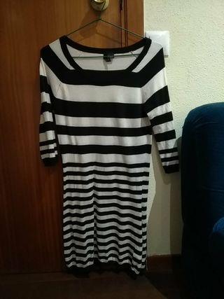 vestido de rayas