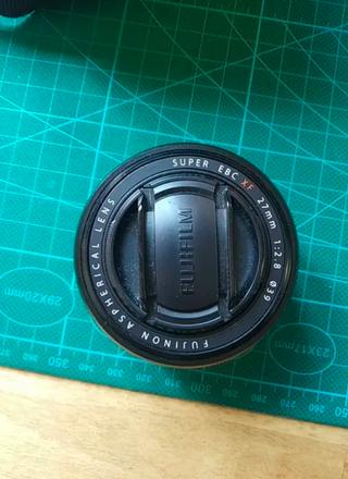 Objetivo cámara Fujifilm XF27mm F2.8