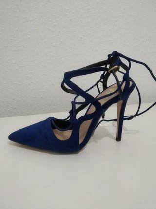 Zapatos tacón sin estrenar