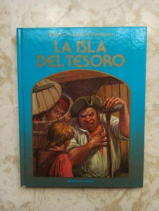 """Libro juvenil """"La isla del tesoro"""""""