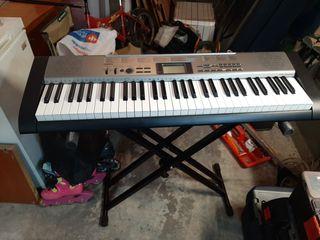 teclado piano musical casio