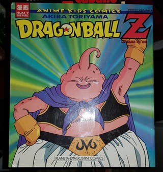 Dragon Ball n°7 Anime Kids Comics Saga Buu.