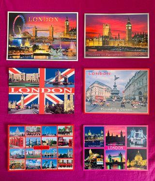 Lote de Postales de Europa