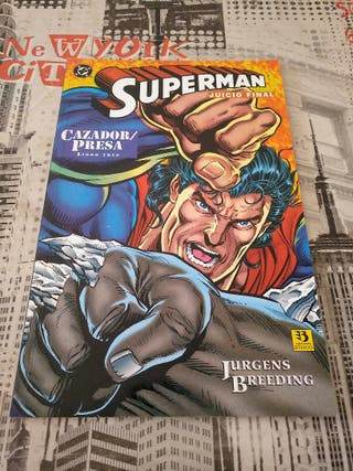 comic Superman juicio final , dc comics , cazador