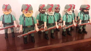 Playmobil legionario customizado