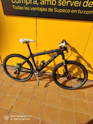 "bicicleta MTB BTT Storck carbono 26"""