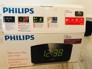 Despertador Philips Radio AJ3400
