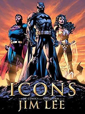 ICONS JIM LEE Artbook Castellano DC Comics, Image