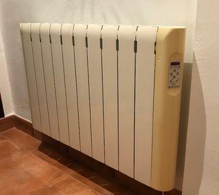 TRES radiadores emisores térmicos Haverland