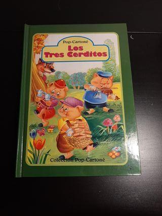Los Tres Cerditos, libro pop cartoné