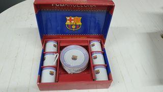 Juego de café del Barça