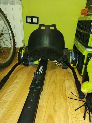 patinete hoverboard+silla