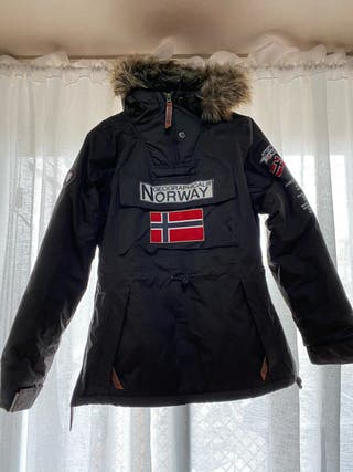 Chaqueta Geographical Norway talla M marrón
