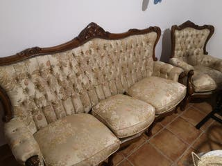 sofa y sillon clasicos