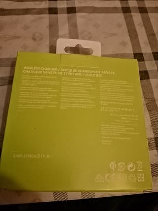 cargador Samsung 15€