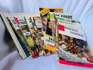Lote de libros recetas antiguos