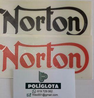 Vinilo autoadhesivo marca Norton