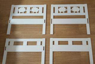 2 camas Ikea Kritter (para niñ@s).