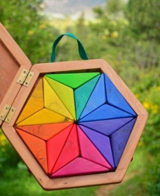 Puzzle Estrella Mandala